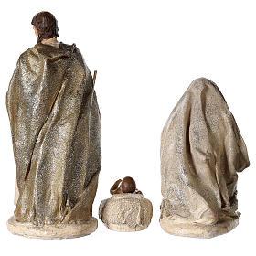 Nativity scene 6 characters in resin 30 cm s4