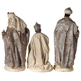 Nativity scene 6 characters in resin 30 cm s5