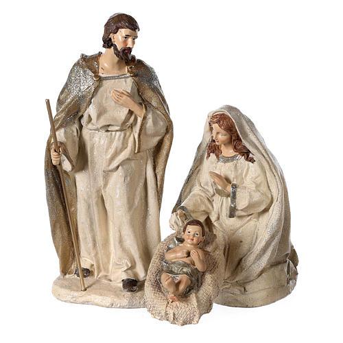 Nativity scene 6 characters in resin 30 cm 2