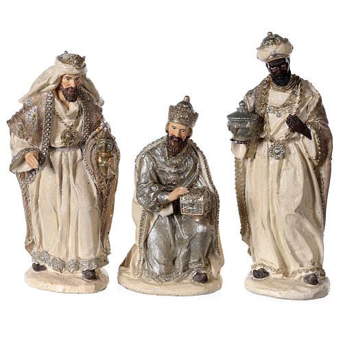 Nativity scene 6 characters in resin 30 cm 3