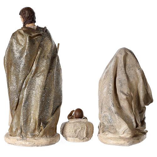 Nativity scene 6 characters in resin 30 cm 4