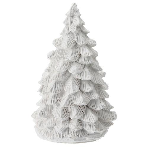Árbol Navidad resina con Natividad 15 cm 4