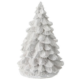 Albero Natale resina con Natività 15 cm s4
