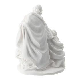 Sagrada Familia resina blanca 5 cm s2