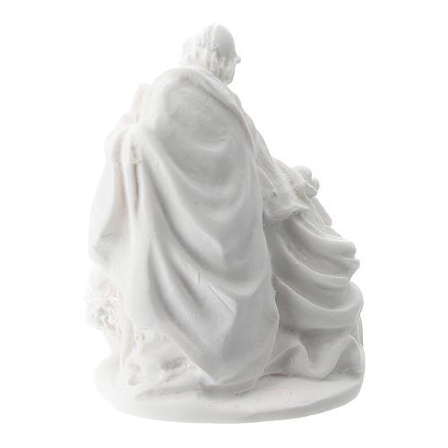 Sagrada Familia resina blanca 5 cm 2
