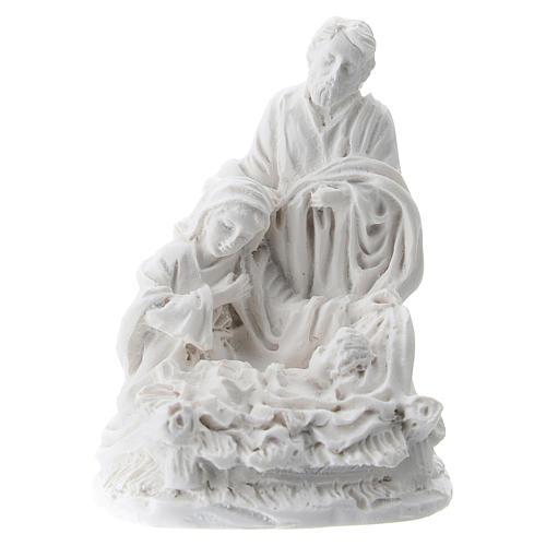 Natividad 5 cm resina blanca 1