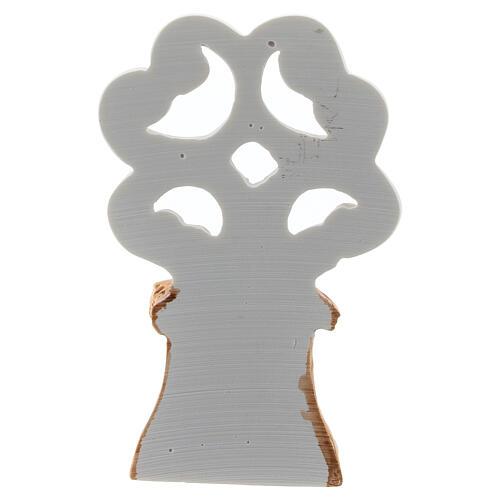Árbol de la Vida con Natividad metal 10 cm 4