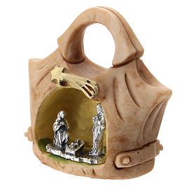 Resin handbag with Holy Family 5 cm s2
