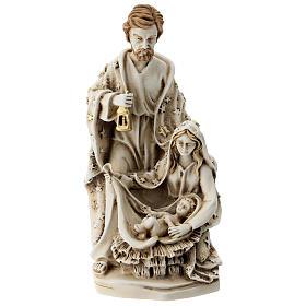 Sagrada Familia resina con estrellas 20 cm s1
