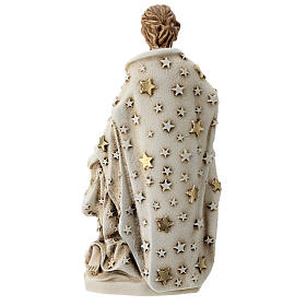 Sagrada Familia resina con estrellas 20 cm s4