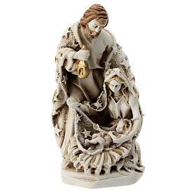 Sagrada Familia resina 10 cm con estrellas s1
