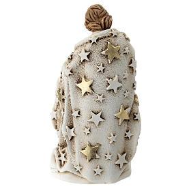 Sagrada Familia resina 10 cm con estrellas s3