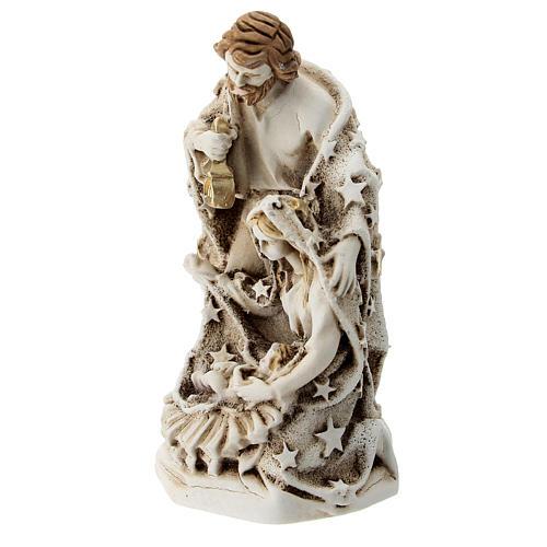 Sagrada Familia resina 10 cm con estrellas 2