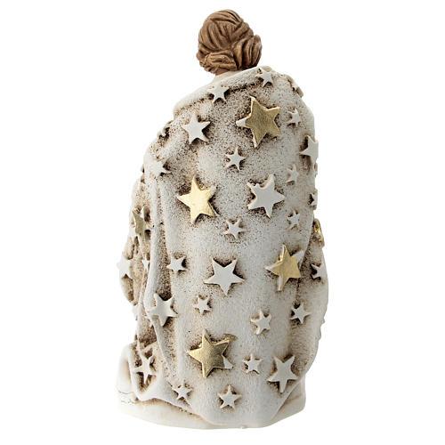 Sagrada Familia resina 10 cm con estrellas 3