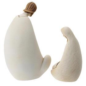 Natividad estilo moderno resina 10 cm s3