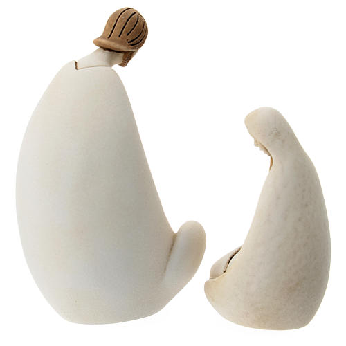 Natividad estilo moderno resina 10 cm 3