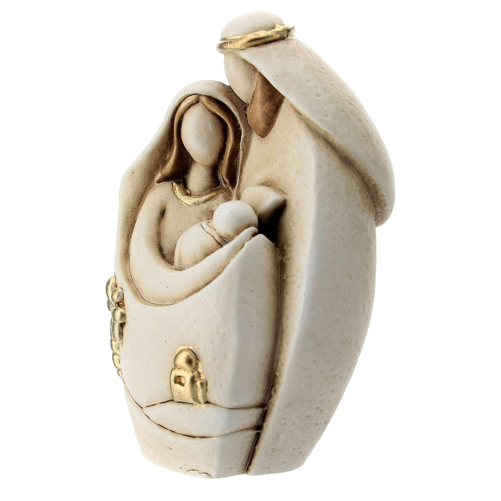 Composición moderna Natividad estilo árabe resina 10 cm 3