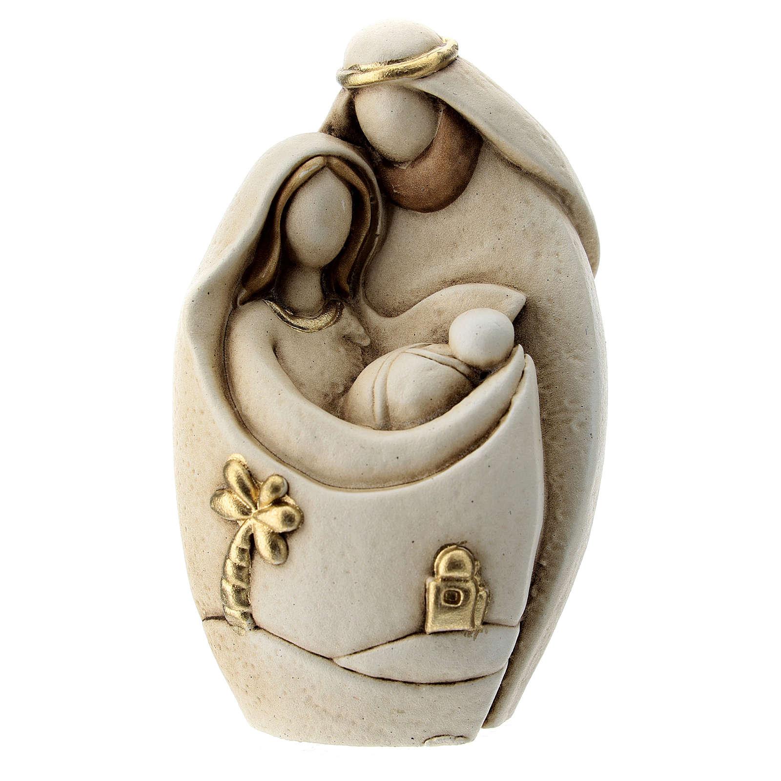 Composizione moderna Natività stile arabo resina 10 cm 3
