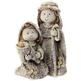 Sagrada Familia línea niño vestidos efecto yute 15 cm s1