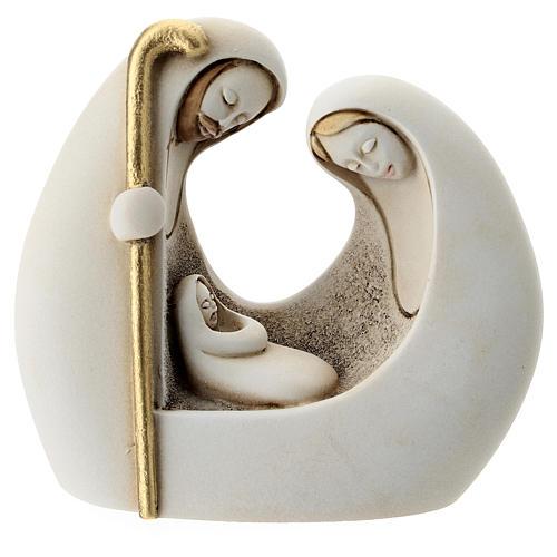 Natividad moderna resina 10 cm 1
