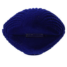 Cofre natividad terciopelo azul concha s3