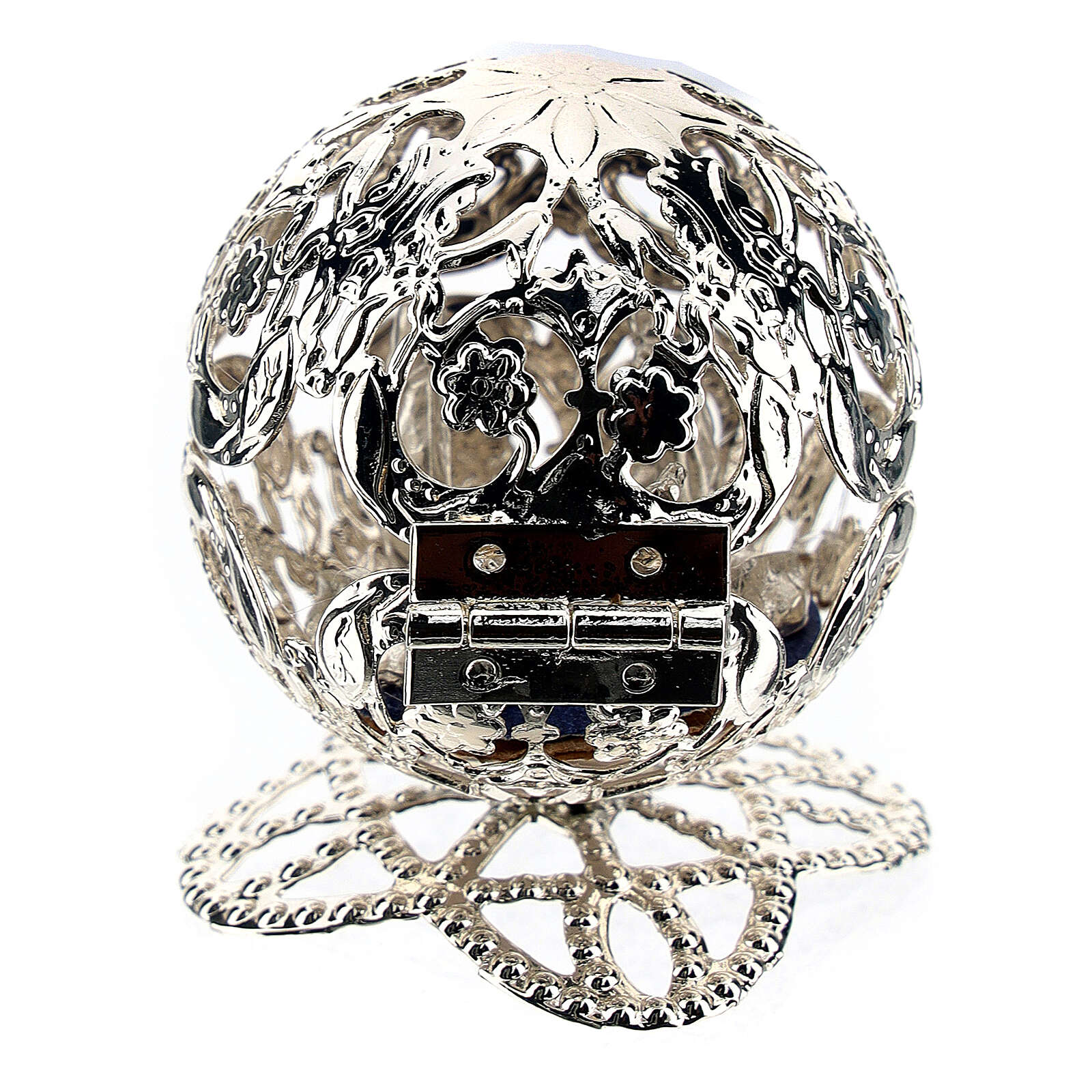 Esfera belén filigrana natividad 4,5 cm 3