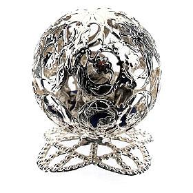 Esfera belén filigrana natividad 4,5 cm s4