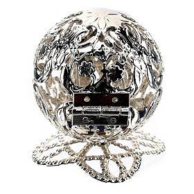 Esfera belén filigrana natividad 4,5 cm s6