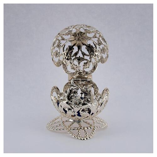 Esfera belén filigrana natividad 4,5 cm 2