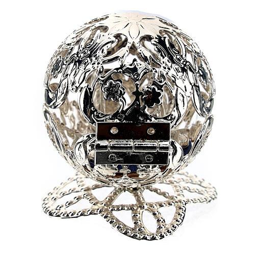 Esfera belén filigrana natividad 4,5 cm 6
