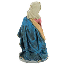 Natività 50 cm presepe resina colorata set 5 pz s7