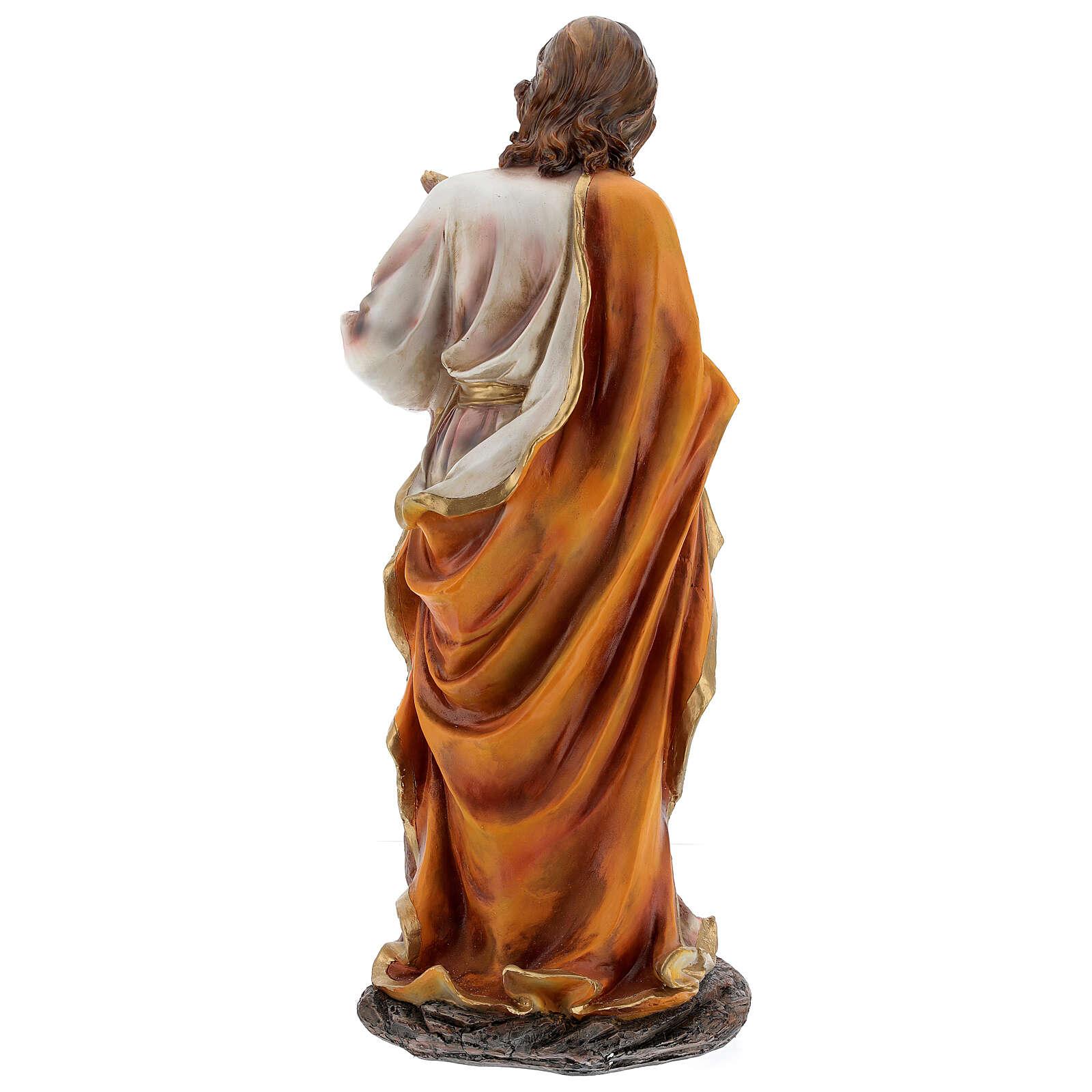 STOCK Narodziny Jezusa 5 części z żywicy malowanej 85 cm 3