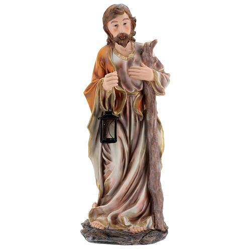 STOCK Narodziny Jezusa 5 części z żywicy malowanej 85 cm 4