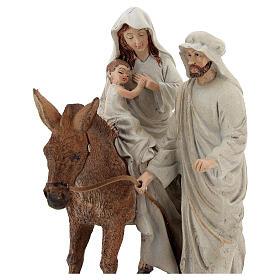 Scena Narodzin z osiołkiem z żywicy 20 cm s2
