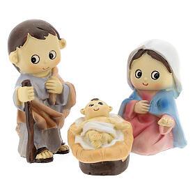 Kids nativity set 5 pcs 10 cm s2