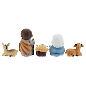 Kids nativity set 5 pcs 10 cm s5