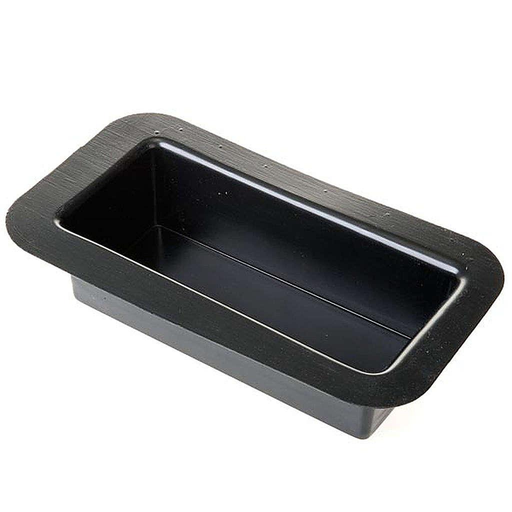 Petit bassin rectangulaire pour Crèche de Noel 23cm 4