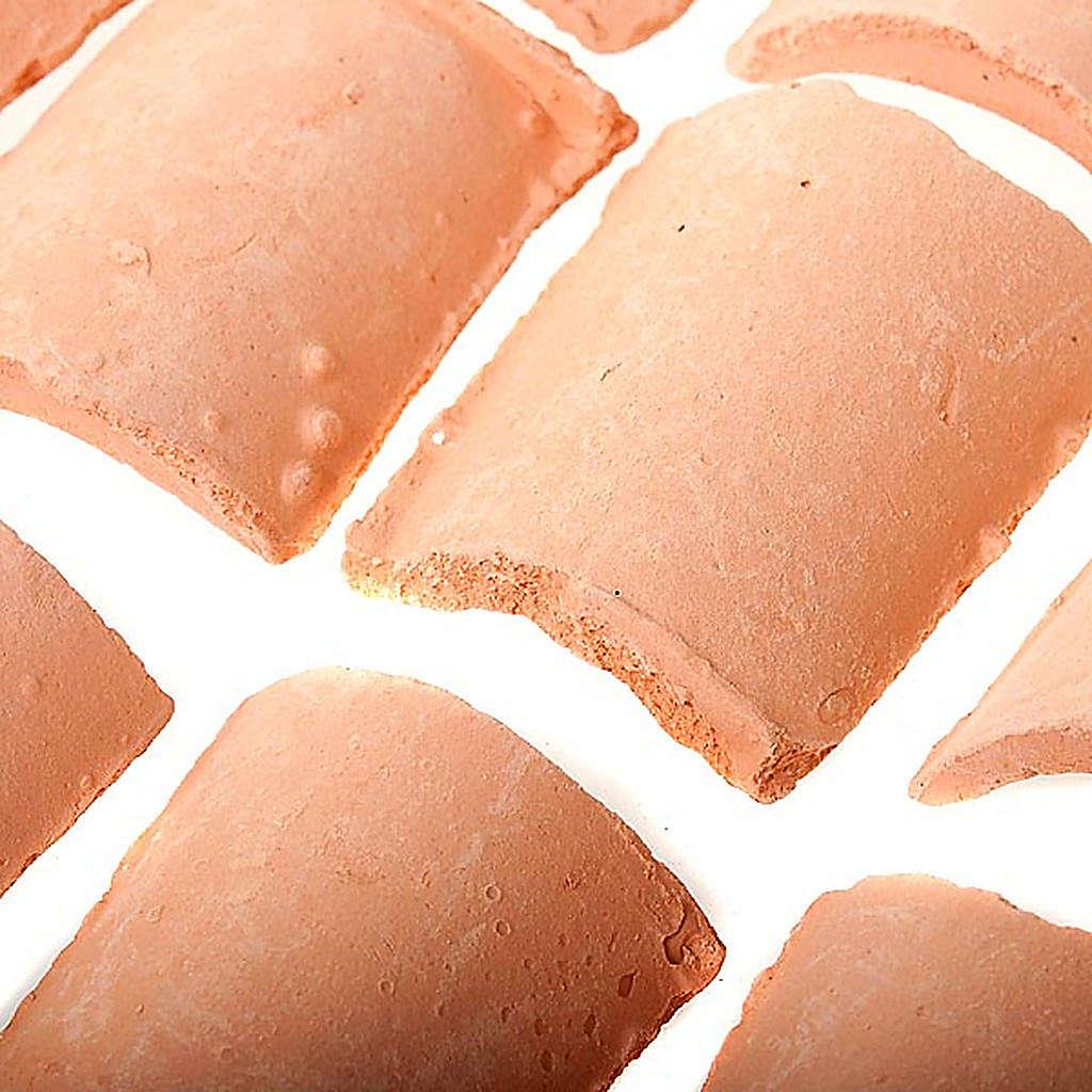 Tegole resina presepe fai da te 15 pz. 4