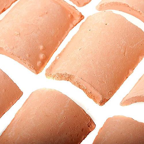 Tegole resina presepe fai da te 15 pz. 1