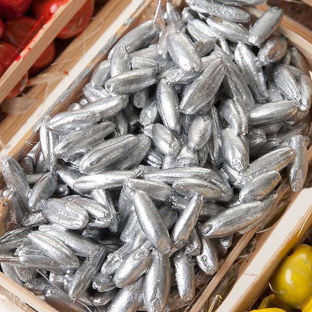 Cajas de fruta pescado para el pesebre pareja de cajas 4