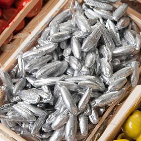 Cajas de fruta pescado para el pesebre pareja de cajas s2