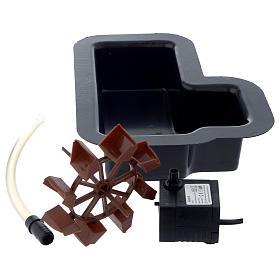 Bomba de agua y motores para movimientos: Molino para el pesebre bricolaje