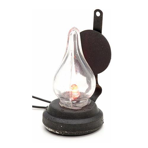 Lampka na baterie szopka cm 4 1