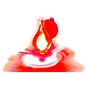 Luz de pilhas presépio 4 cm s4