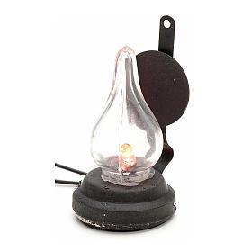 Luzes e Lamparinas para o Presépio: Luz de pilhas presépio 4 cm
