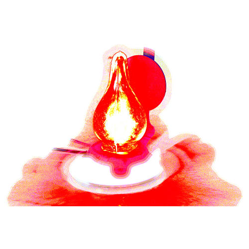 Luz de pilhas presépio 4 cm 4