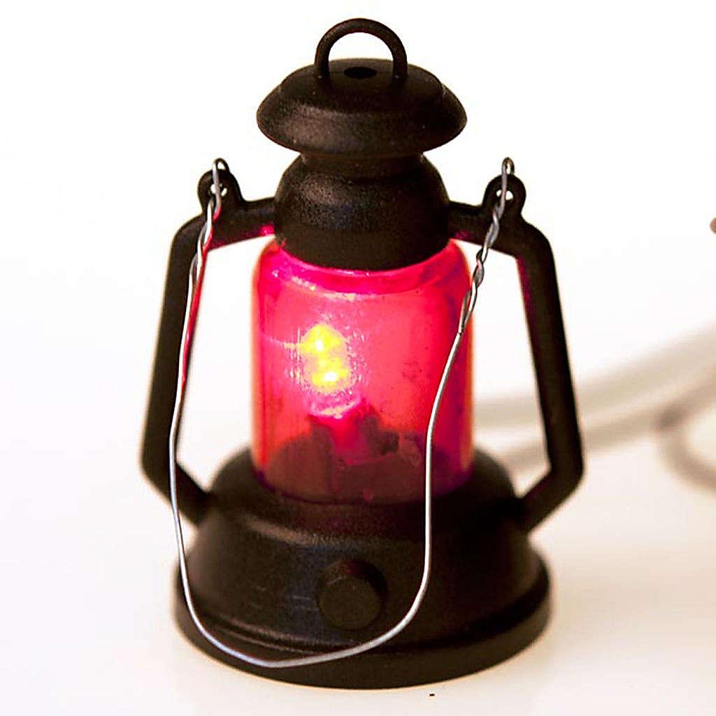 Lanterna presepe a batteria cm 4 4