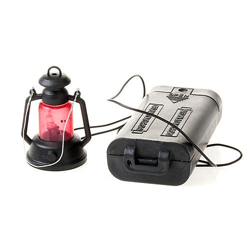 Lanterna presepe a batteria cm 4 2