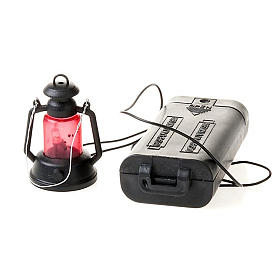 Lampion do szopki na baterie cm 4 s2