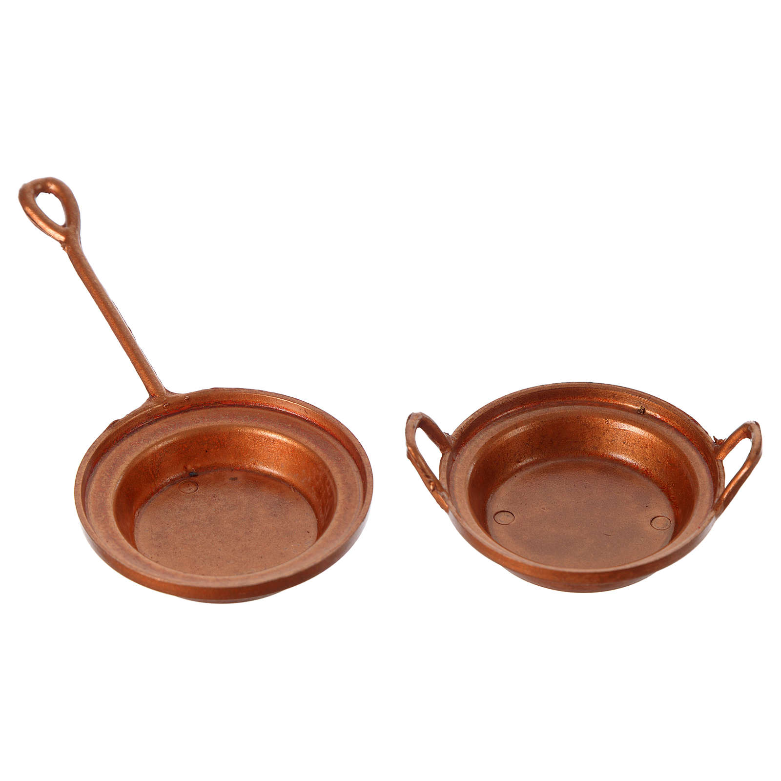 Nativity set accessory, set of 2 pans 4